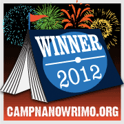 Camp NaNoWriMo Winner August 2012