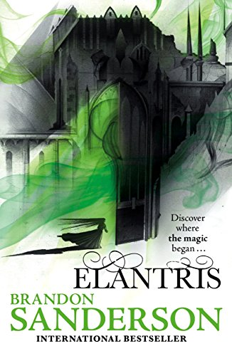 Cover art for Brandon Sanderson's Elantris 10th anniversary addition