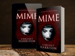 Mime book and tablet mock up